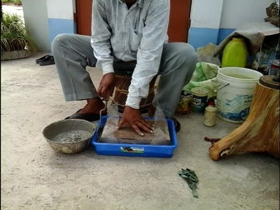 How to make cement concrete Bonsai pot at HOME