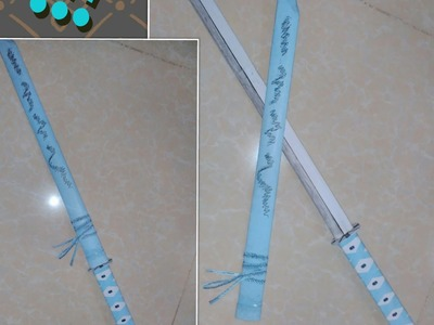 How to make paper Katana sword
