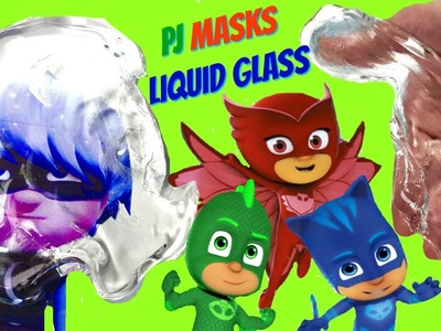 How to Make PJ MASKS Liquid Glass! Help Save Peppa the Pig and Dory from Luna Girl & Romeo!