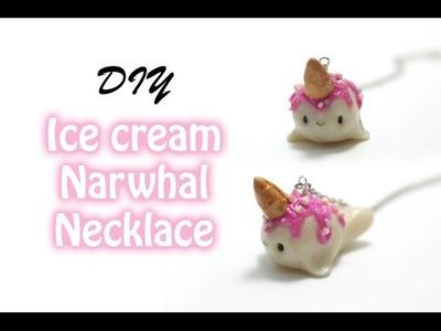 Kawaii Ice Cream Narwhal