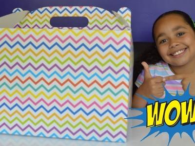 Opening Giant Surprise Present - Kinder Surprise Chocolate - Paw Patrol Mashems | Toy Surprises