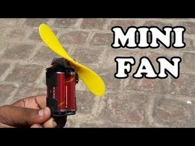 Eco-Cooler: The Zero Electricity Air Cooler part 30 - How to make handy electric fan from coca can