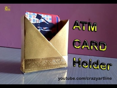 How to make a ATM card holder