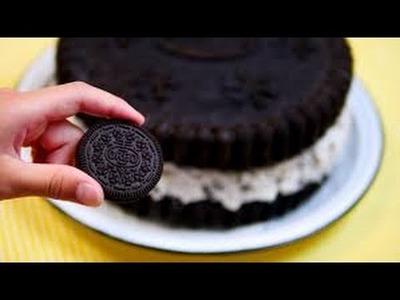 How to make a Giant Oreo Cake!