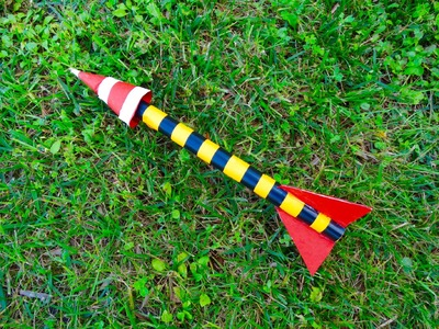 How To Make a Paper Rocket That Fly - Easy Rocket Launcher you can do at home | DIY