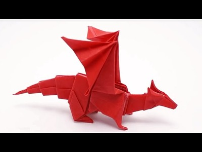 How to make an an easy origami dragon for kids