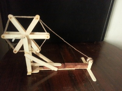 How to Make Mahatma Gandhi Charkha