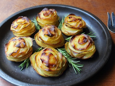 Potato Roses - How to Make Rose-Shaped Potato Gratins