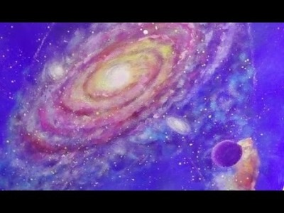 Star Trek Artwork | Galaxy Acrylic Painting |Trekkie Space Fan Art | How to Paint Universe & Planets