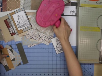 Cardmaking with Authentique's Durable paper using 6x6 tutorial