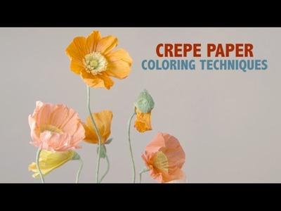 Crepe Paper Techniques - Color
