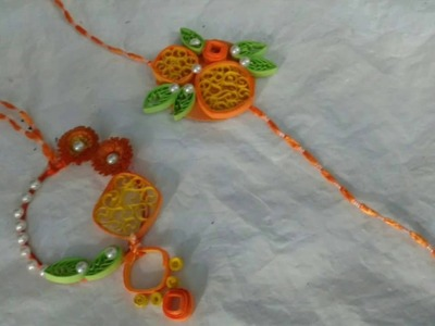 DIY | Make Lumba Rakhi With Paper Quilling | Craftlas