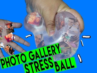 DIY | Photo Gallery Stress Ball - HOW TO MAKE A STRESS BALL CAMERA ROLL!