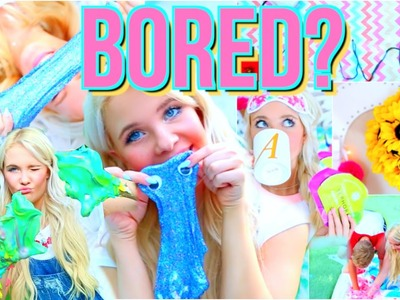 Fun Things to do This Summer When Bored + DIY ideas you NEED to try!