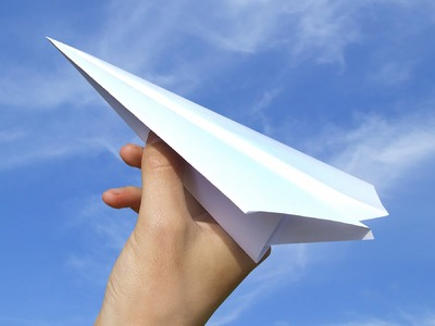 How To Make A Paper  Plane - Fly Far