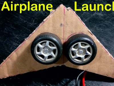How To Make Paper Airplane Launcher Easy Way