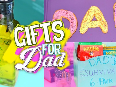 Last Minute DIY Father's Day Gift Ideas 2016! Easy & Affordable Gift Guide For Dad. Jill Cimorelli