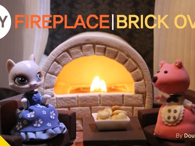 * Miniature TV * LPS Videos :New cinderella 2.DIY-FIREPLACE & BRICKOVEN