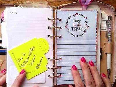 Planner Set Up A-Z | Part 8 (Kate Spade, Travelers Notebook, Plum Paper Planner)