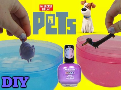 D.I.Y. Secret Life of Pets Color Change Mood Nail Polish! Easy Do it Yourself Project TUYC