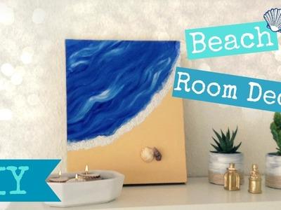 DIY Beach room Decor - Easy Summer room Decor