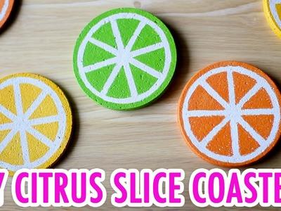 DIY Citrus Slice Coaster Set - HGTV Handmade