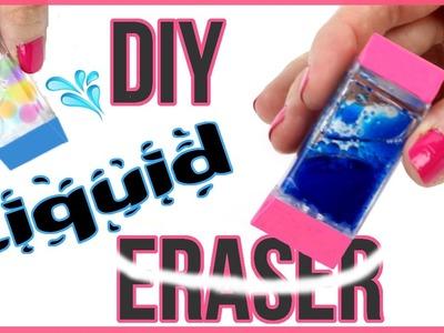DIY Crafts: DIY LIQUID ERASERS! Orbeez, Lava, Glitter Liquid Eraser DIYs!
