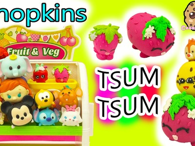 DIY Handmade Inspired Shopkins Strawberry Kiss Tsum Tsum Do It Yourself Clay Craft Video