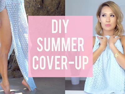 DIY Summer Beach Skirt  | ANN LE
