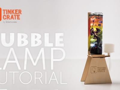 Make a DIY Bubble Lamp