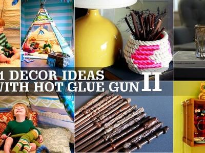21 Decor ideas with Hot Glue gun+ #2