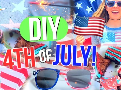 DIY 4th of July! | Decor, Sunglasses, Treat + Essentials!!