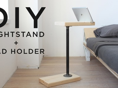 DIY Nightstand and iPad Holder | 3-Tool Series