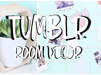 DIY TUMBLR ROOM DECOR! | Carly Renae