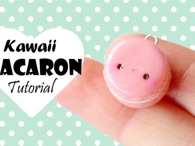 Easy Kawaii Macaron│Polymer Clay Tutorial