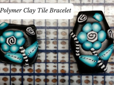 Easy Polymer Clay Cane Bracelet Tutorial