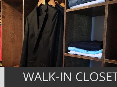How to Build a Custom Walk-In Closet. DIY