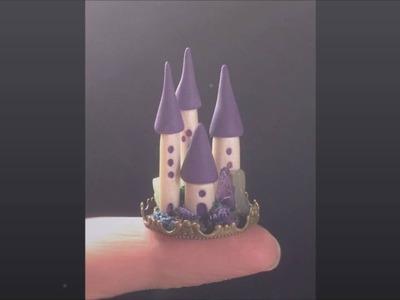 Polymer Clay Tiny Fairy Kingdom Time Lapse