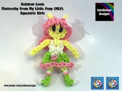 Rainbow Loom Fluttershy My Little Pony Equestria Girl  MLP