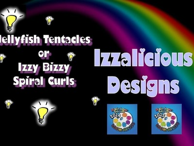 Rainbow Loom Loomigurumi Tentacle or Spiral for Jellyfish | Octopus | Squid or Izzy Bizzy doll hair