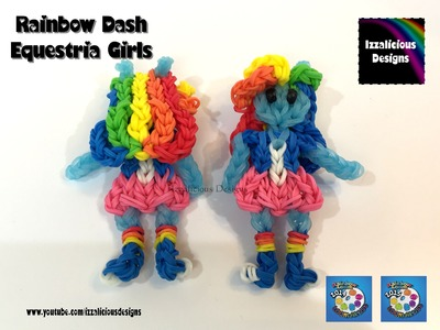 Rainbow Loom Rainbow Dash My Little Pony Equestria Girl  MLP