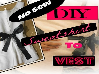 Diy Fashion. Upcycling Clothing -Easy No Sew.