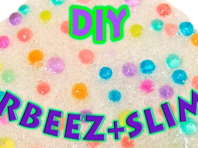 DIY ORBEEZ SLIME! How To Make Clay Slime with ORBEEZ.