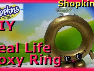 DIY Shopkins Roxy Ring! Shopkin Season 3,Shopkin videos,inspired by cookie swirl c