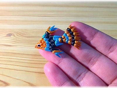 3d origami small fish-1