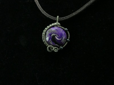 Beginner Wire Wrapping Tutorial Bead Pendant