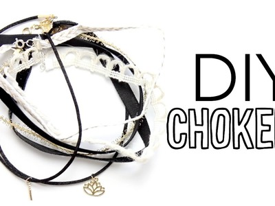 DIY Chokers! How To Make Chokers