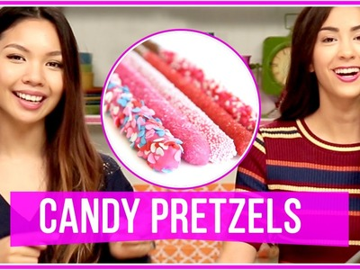 EASY DIY CHOCOLATE PRETZELS! Let's Get Snacking
