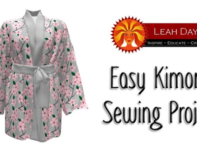 Easy Kimono Sewing Project with Sprout Patterns