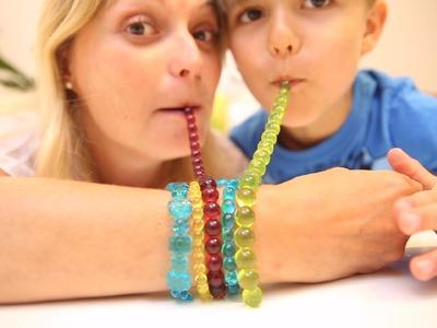 Gummy Jewelry - DIY Gummy - How To Make - Eat Your Jewellery